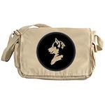 Husky Puppy Messenger Bag
