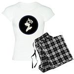 Husky Puppy Women's Light Pajamas