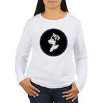 Husky Puppy Women's Long Sleeve T-Shirt