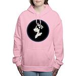 Husky Puppy Women's Hooded Sweatshirt