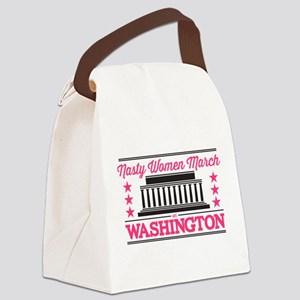 Nasty Women March Canvas Lunch Bag