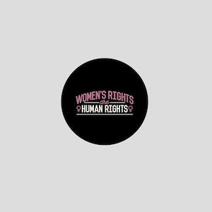 Women's Rights Mini Button