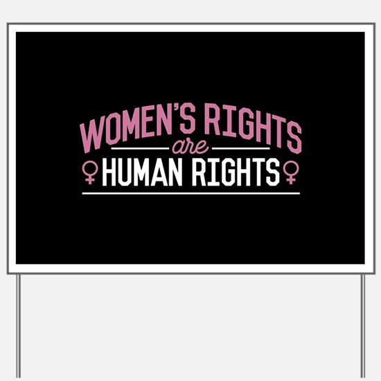 Women's Rights Yard Sign