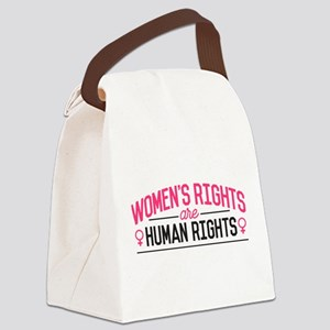 Women's Rights Canvas Lunch Bag
