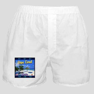 Cape Coral Florida Boxer Shorts