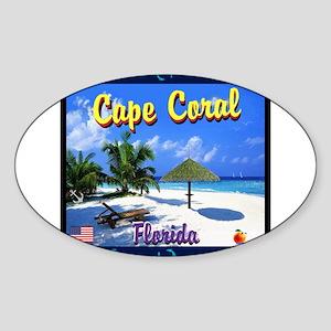 Cape Coral Florida Sticker
