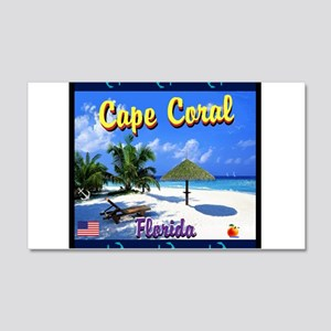 Cape Coral Florida Wall Decal