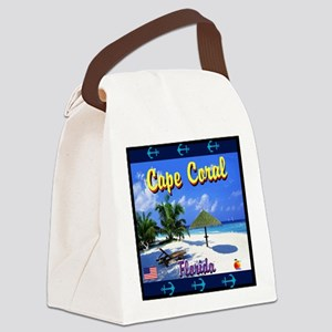 Cape Coral Florida Canvas Lunch Bag