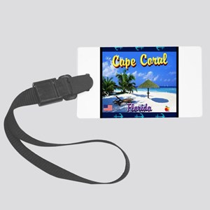 Cape Coral Florida Luggage Tag