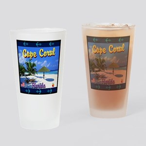 Cape Coral Florida Drinking Glass