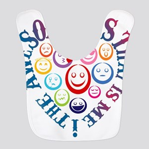 The Awesomeness That Is Me! Polyester Baby Bib
