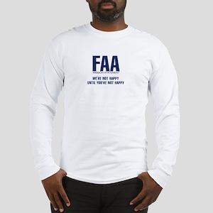 FAA-MissionStatement Long Sleeve T-Shirt