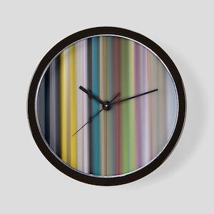 Abstract Bookshelf Design Wall Clock