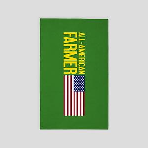 Farmer: All-American (Green) Area Rug
