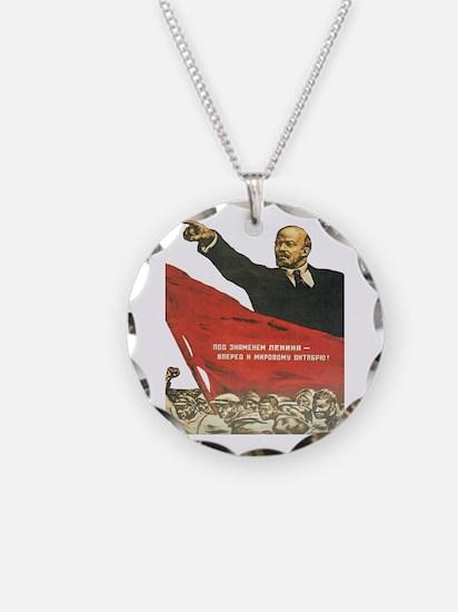 Vladimir Lenin soviet propa Necklace
