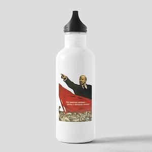 Vladimir Lenin soviet Stainless Water Bottle 1.0L