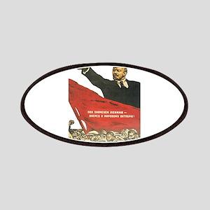 Vladimir Lenin soviet propaganda Patch