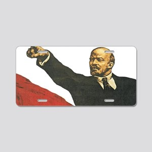 Vladimir Lenin soviet prop Aluminum License Plate