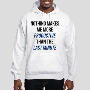 Last Minute Hooded Sweatshirt