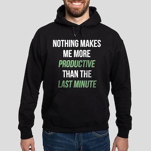 Last Minute Hoodie (dark)