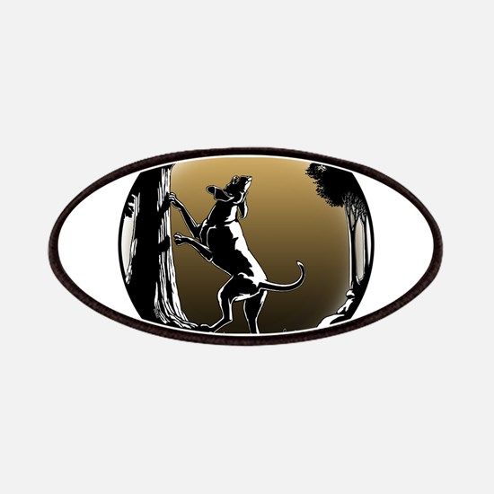 Hound Dog Art Hunting Dog Patch