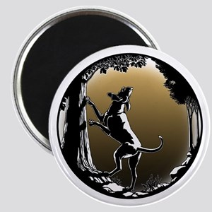 Hound Dog Art Hunting Dog Magnets