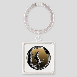 Hound Dog Art Gifts Hunting Dog Shi Keychains