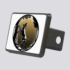 Hound Dog Art Hunting Dog Rectangular Hitch Cover