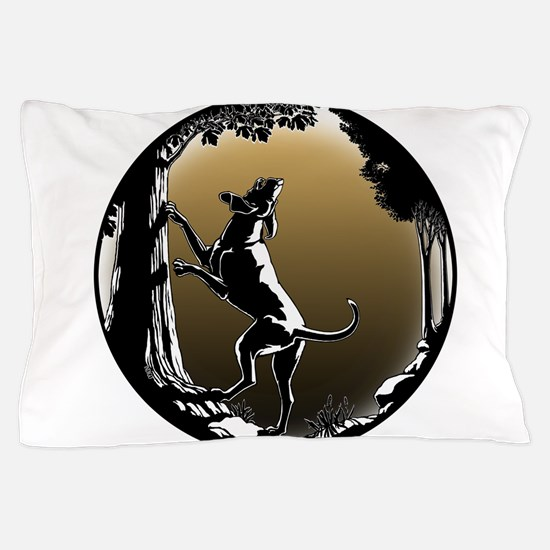 Hound Dog Art Hunting Dog Pillow Case