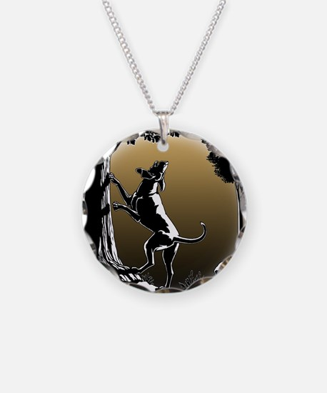 Hound Dog Art Hunting Dog Necklace