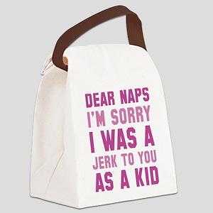 Dear Naps Canvas Lunch Bag
