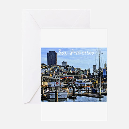 San Francisco Harbor Greeting Cards