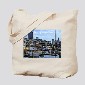 San Francisco Harbor Tote Bag