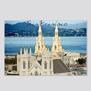 San Francisco Church Postcards (Package of 8)