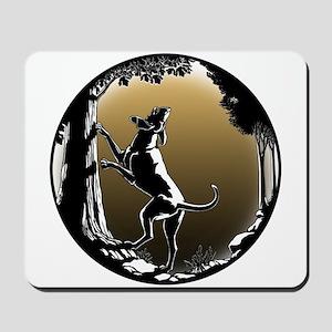 Hound Dog Art Hunting Dog Mousepad
