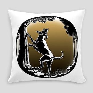 Hound Dog Art Hunting Dog Everyday Pillow