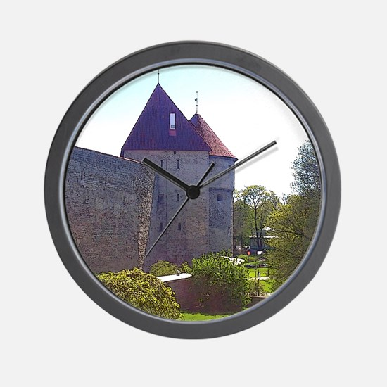 It's Peaceful Here Wall Clock
