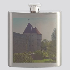 It's Peaceful Here Flask