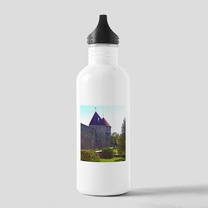 It's Peaceful Here Water Bottle