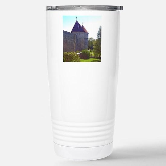It's Peaceful Here Travel Mug