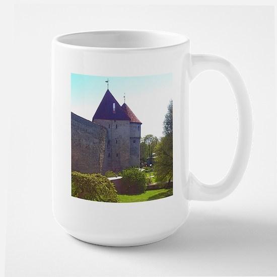It's Peaceful Here Mugs