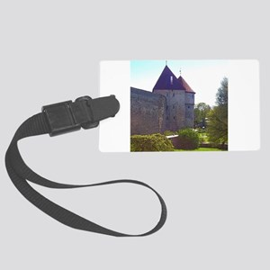 It's Peaceful Here Luggage Tag