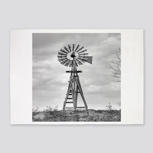Windmill 5'x7'Area Rug