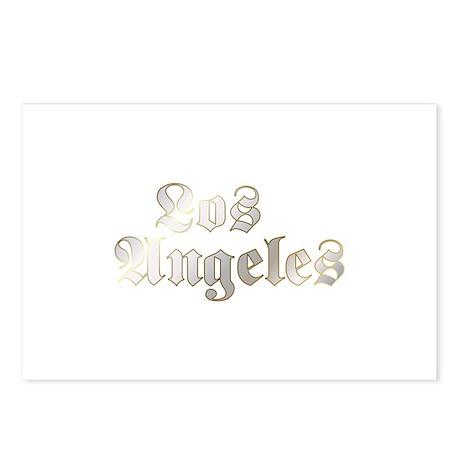 Old School Los Angeles Postcards (Package of 8)