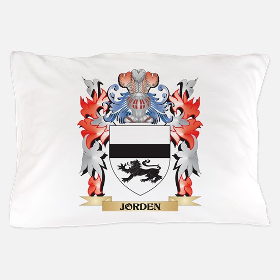 Jorden Coat of Arms - Family Crest Pillow Case