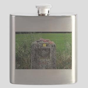 El Camino: marker 86 kilometres, Spain Flask