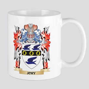 Jory Coat of Arms - Family Crest Mugs