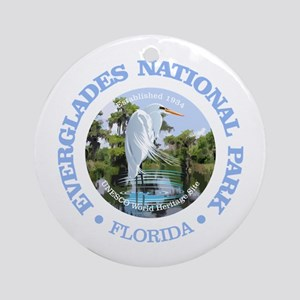 Everglades NP Round Ornament