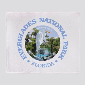 Everglades NP Throw Blanket