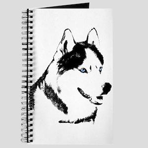 Husky Malamute Sled Dog Journal